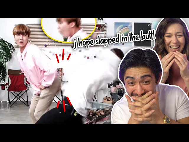 so i created a song out of bts memes - HILARIOUS COUPLES REACTION!