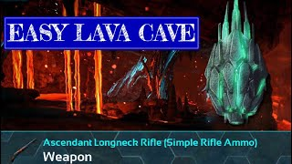 HOW TO SPEEDRUN THE LAVA CAVE   Ark Survival Evolved