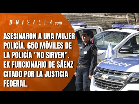 """Video: DNI TV: Mataron a una mujer policía y hay más de 650 móviles que """"no sirven"""""""