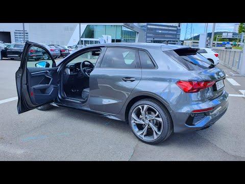 Audi A3 Sportback S Line 2020 Test Drive Review POV