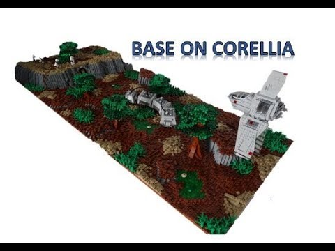 Lego Star Wars Moc - Base on Corellia