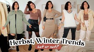 Ich TESTE die HERBST / WINTER TRENDS 2021   Welchen STYLE trage ICH wirklich?   HOT or NOT?