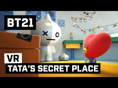 [BT21] TATA's SECRET PLACE - 360 VR