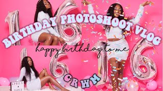 16TH BIRTHDAY PHOTOSHOOT VLOG / GRWM | DAYLAWEBSTER