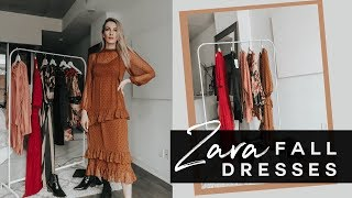 ZARA FALL DRESSES | STYLED CHIC & SPORTY | MON MODE