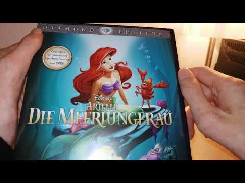 Disney Arielle die Meerjungfrau Diamond Edition DVD Unboxing