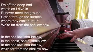 shallow piano cover with lyrics - 免费在线视频最佳电影电视