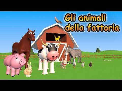 Gli animali della fattoria - AlexKidsTV