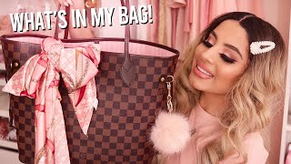 Whats In My Work Bag | Louis Vuitton Neverfull MM
