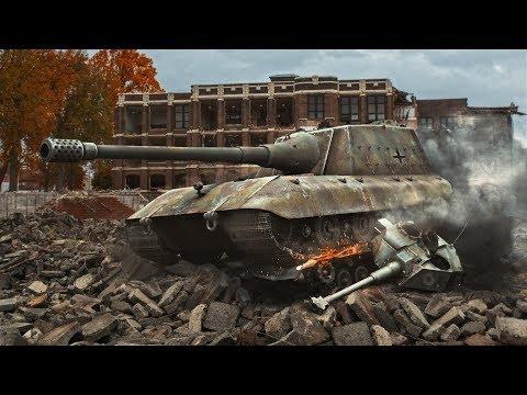 Jg Pz E100 - Танк с 1000 среднего урона в World Of Tanks