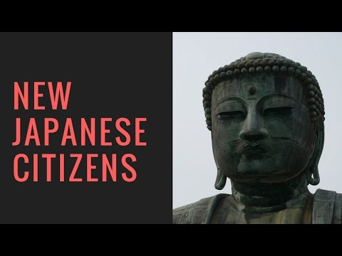 New Japanese Citizens