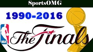 NBA Finals Last Seconds 1990-2016