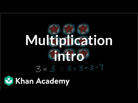 Intro to multiplication (video) Khan Academy