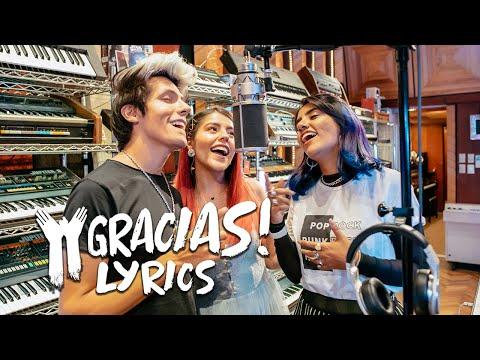 GRACIAS Lyric video | LOS POLINESIOS (letra)