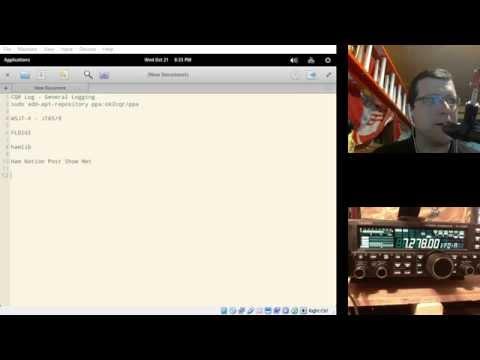 Linux Ham Station Test - смотреть онлайн на Hah Life