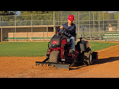 Toro® Sand Pro® 3040 & 5040 Infield Attachments