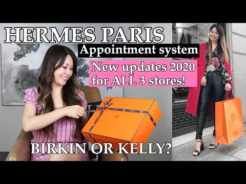 UPDATED: HOW TO GET a BIRKIN or KELLY in PARIS 2020 *system at all 3 stores*