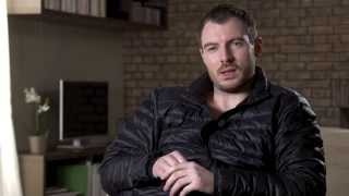 CROSSING LINES 2 - Interview with RICHARD FLOOD playing TOMMY McCONNELL