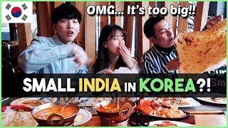 Korean Visit Indian Restaurant In Korea│KimchiCurrySmile
