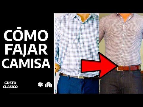 ¿Cómo fajarse la camisa? | Tu camisa perfecta todo el día