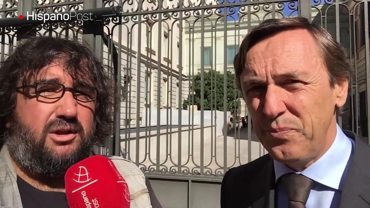 Rafael Hernando, portavoz del Partido Popular, explica acciones contra intenciones separatistas