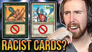 Asmongold Reacts To Magic: The Gathering Banning Cards With Offensive Imagery