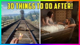 30 Things To Do After You Beat Red Dead Redemption 2!