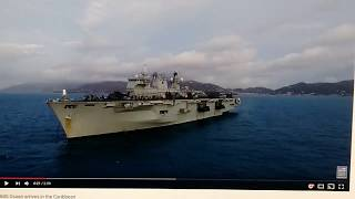 **ARRIVAL OF A NEW AIRCRAFT CARRIER CHANGES THE CALCULUS OF THE SITUATION COMPLETELY(!)