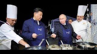 PUTIN UND XI JINPING: So wird die russisch-chinesische Partnerschaft zelebriert