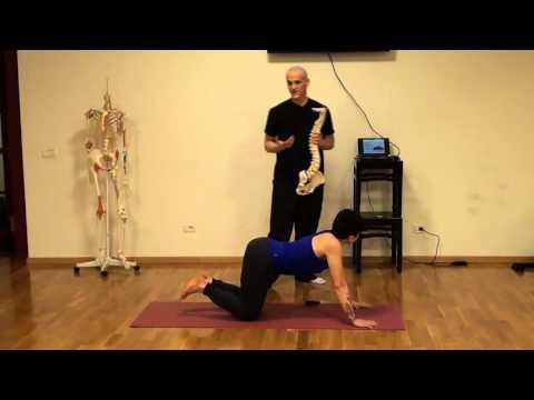 La terapia esercizio complesso per la colonna vertebrale cervicale e toracico