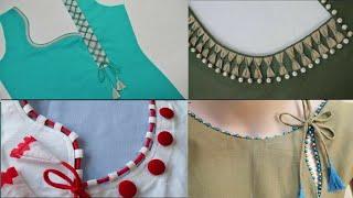 100+ Simple Chudidaar Neck Designs 2020   Punjabi Suit Neck Designs For Daily Wear   Gale Ke Design