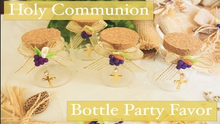 First Holy Communion Bottle Party Favor Decorations For Boys And Girls Part 1