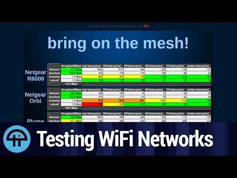 Testing WiFi and Mesh Networks