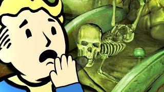 5 жутких и секретных мест в Fallout 4 (Страшные места!)