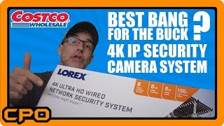 LOREX 4K 8MP Ultra HD POE Wired Network Security System from COSTCO -Better than Black Friday Deals!