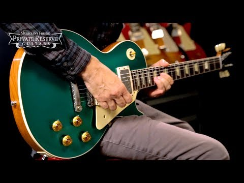 0 - Gibson Custom Shop Historic '57 Les Paul Standard VOS Electric Guitar Candy Green