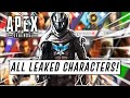 All LEAKED Characters Revealed In Apex Legends & Their Abilities! (Immortal, Nomad, Loba & MORE!)