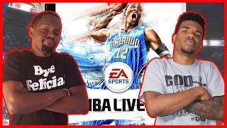 THE FANTASY TEAM BATTLE! - NBA Live 2010  #ThrowbackThursday ft. Juice