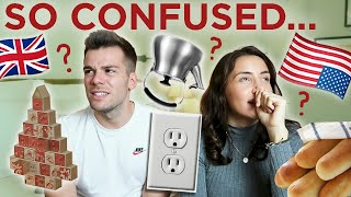 🇺🇸AMERICAN Things That Confuse BRITISH PEOPLE! 🇬🇧