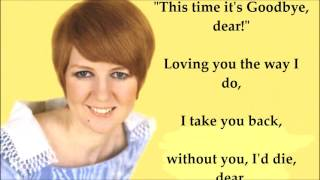 Anyone Who Had a Heart  CILLA BLACK (with lyrics)