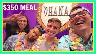HUGE ANNOUNCEMENT & 'OHANA DINNER REVIEW | Polynesian Village Resort Vlog