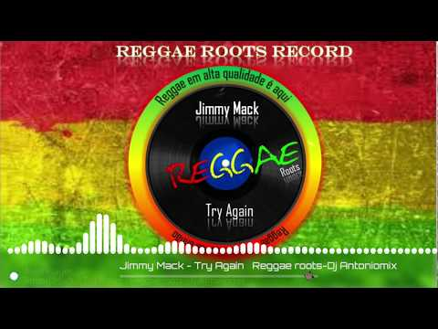 Jimmy Mack – Try Again – Reggae roots Record