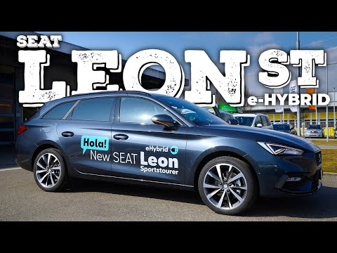 2021 SEAT Leon Sportstourer FR eHybrid Review Interior Exterior