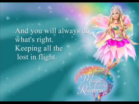 """Barbie Fairytopia: Magic of the Rainbow OST - """"You Are The Most"""""""