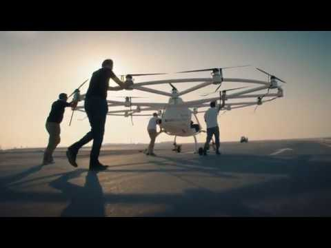 Experience Dubai S Flying Taxi Drone The Volocopter In