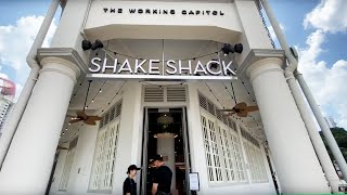 A view of Shake Shack's second outlet at 89 Neil Road | The Straits Times