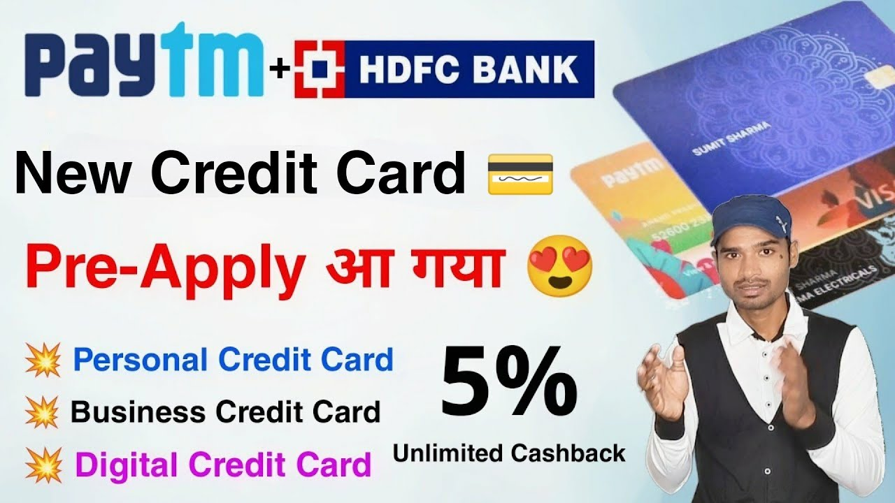 Paytm HDFC Charge Card Pre-Book Apply Complete Advantages|| Paytm hdfc Digital card use|| paytm card thumbnail