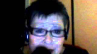 The Christmas Guest by Judie Busby  in the style of Reba McEntire   SingSnap Karaoke22.wmv
