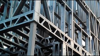 Light gauge steel frame building system for load bearing and non load bearing walls