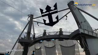 Symphony of the Seas: Shows an Bord